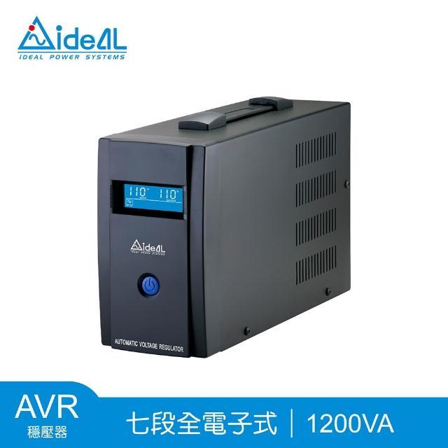 【愛迪歐IDEAL】IPT Pro-1200(穩壓器AVR 1200VA)