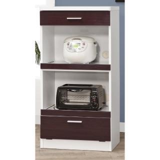 【CHEERFUL】鐵刀木色鏡面板廚房收納櫃-60公分寬(廚房櫃/置物櫃/E1等級板材)