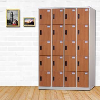 【時尚屋】埃里克多用途塑鋼製20格置物櫃 RU6-KL-4020FF免運費(置物櫃)