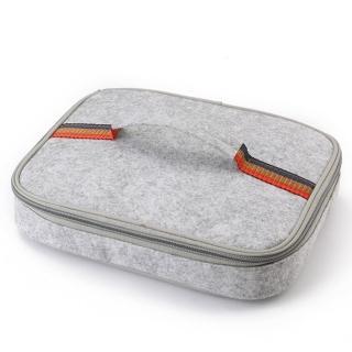 【PUSH! 餐具用品】保溫飯盒便當盒保溫提袋1入小號(E89)