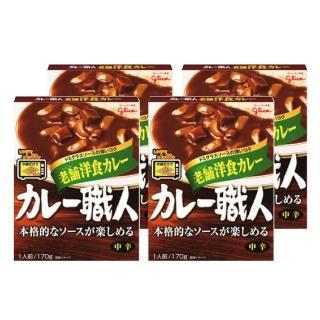 【Glico格力高】職人咖哩 老舖洋食(170g)x4入