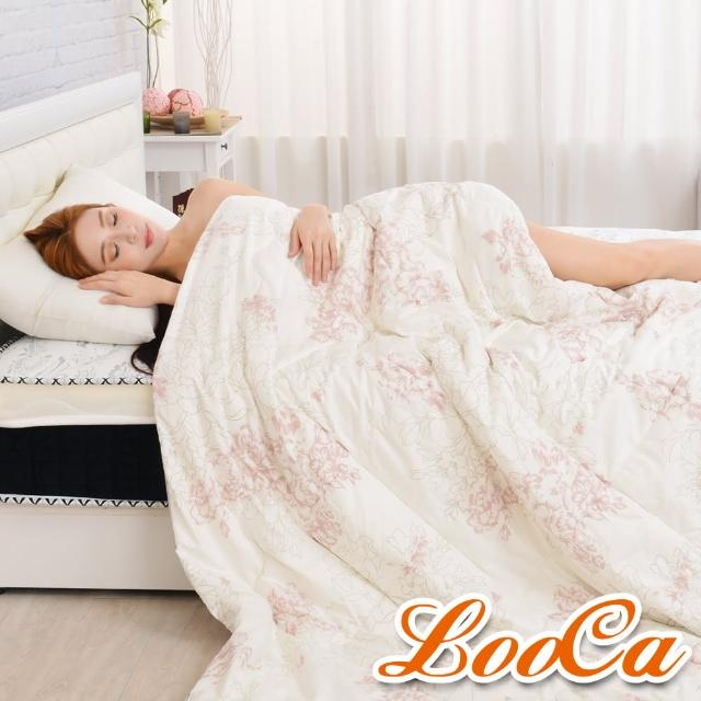 【LooCa】花綻2.5kg 100%純蠶絲被(1入-180x210cm)