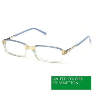 【BENETTON 班尼頓】專業兒童眼鏡 細框金屬質感系列(藍/橘/綠 BB016-01/03/04)