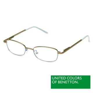 【BENETTON 班尼頓】專業兒童眼鏡 細框金屬質感系列(藍/紅/黃 BB023-01/02/03)