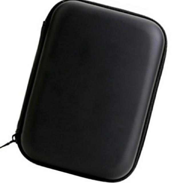 【Ainmax】典雅經典防震防潮收納包(2.5吋外接硬碟也均適用)