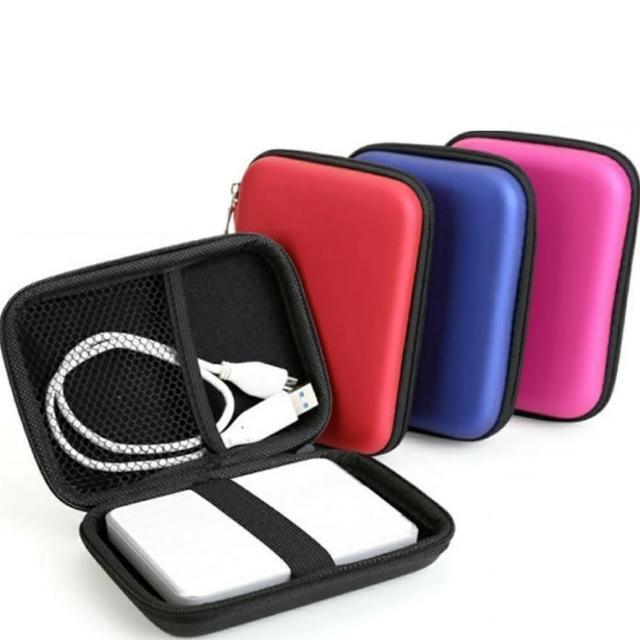 【Ainmax】Encer極致經典防震防潮收納包(2.5吋外接硬碟也均適用)