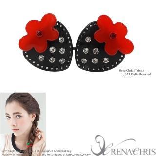 【Rena Chris】小草莓雙頭髮束(Black)