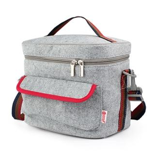 【PUSH! 餐具用品】保溫飯盒便當盒保溫提袋(1入超大號E92)