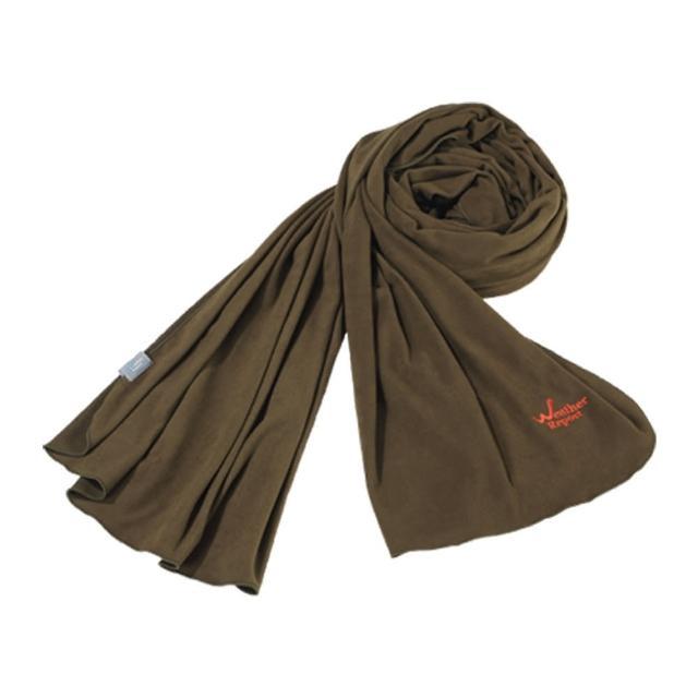 【北歐Weather Report】素色百搭仿麂皮圍巾 / 深橄欖(WE430A-01 中性款)