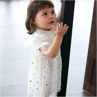 【baby童衣】滿天星星網紗裙 附小褲褲  2件套 60183(共1色)