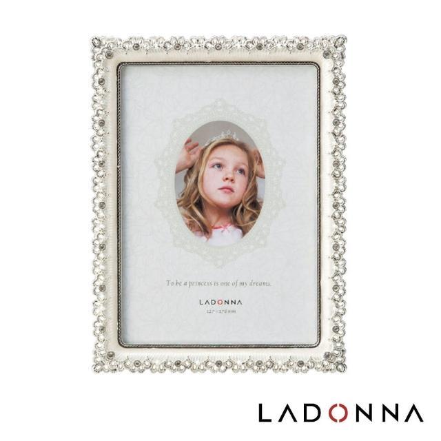【日本LADONNA】Bridal 4x6絢麗鑽飾相框(MJ87-P-WH)