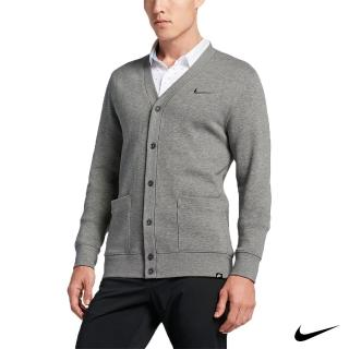 【NIKE GOLF】CLASH CARDIGAN 針織 外套(灰811276-063)