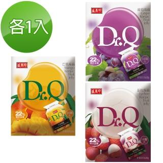 【盛香珍】Dr. Q 蒟蒻綜合三入組(芒果+葡萄+荔枝)