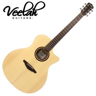 【VEELAH】V1-GAC 面單板民謠木吉他(附贈琴袋 背帶 以及彈片)