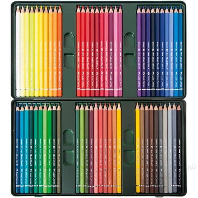 【Faber-Castell】ARTISTS藝術家級專家油性色鉛筆60色(110060)