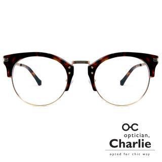 【Optician Charlie】韓國亞洲專利光學眼鏡OD系列(玳瑁SaSa   OD DE)