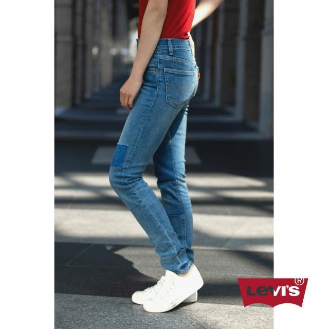 【Levis】721 高腰緊身牛仔褲 / 橘標 / 中彈力布料