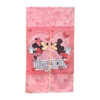 【Disney】米奇長門簾-愛心紅(HSJ851)