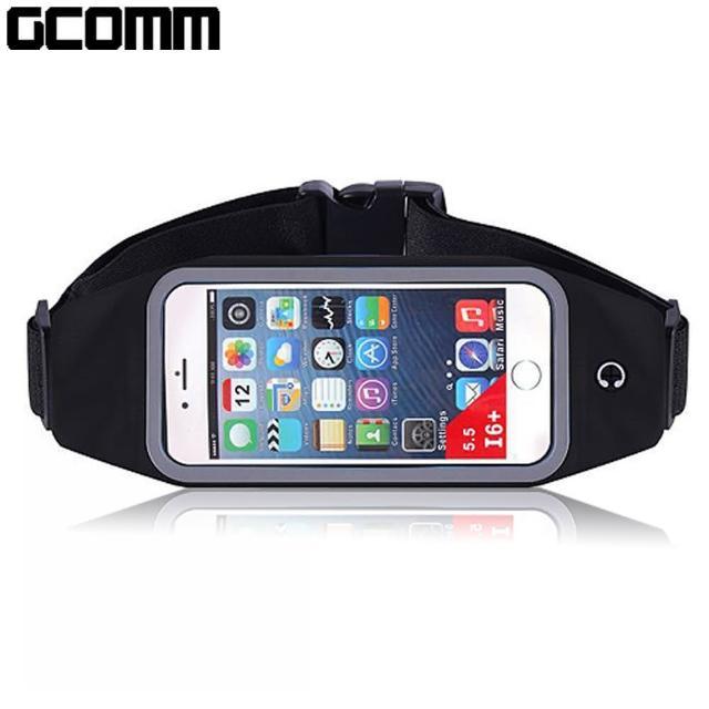 【GCOMM SPORT】穿戴式音樂防汗水運動腰包(4.8吋以下通用)