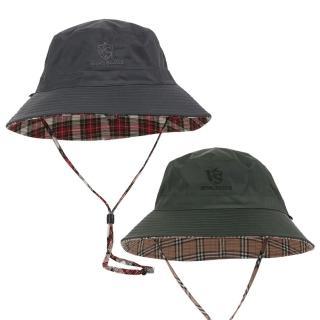 【Vital Silver 銀盾】VITAL-TEX透濕雙面時尚漁夫防水帽(二入組-抗UV防曬/戶外運動/旅遊/遮陽帽/運動帽)