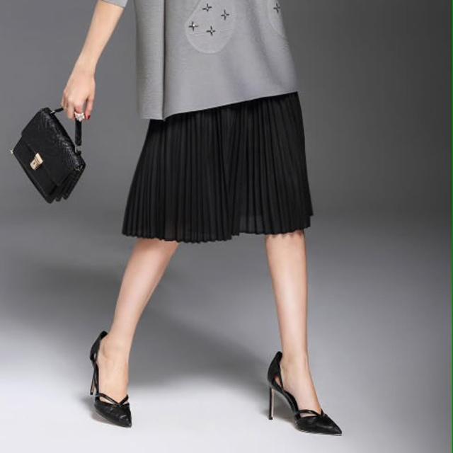 【羽生摺衣】摩登氣質-五分褲裙(共三色)
