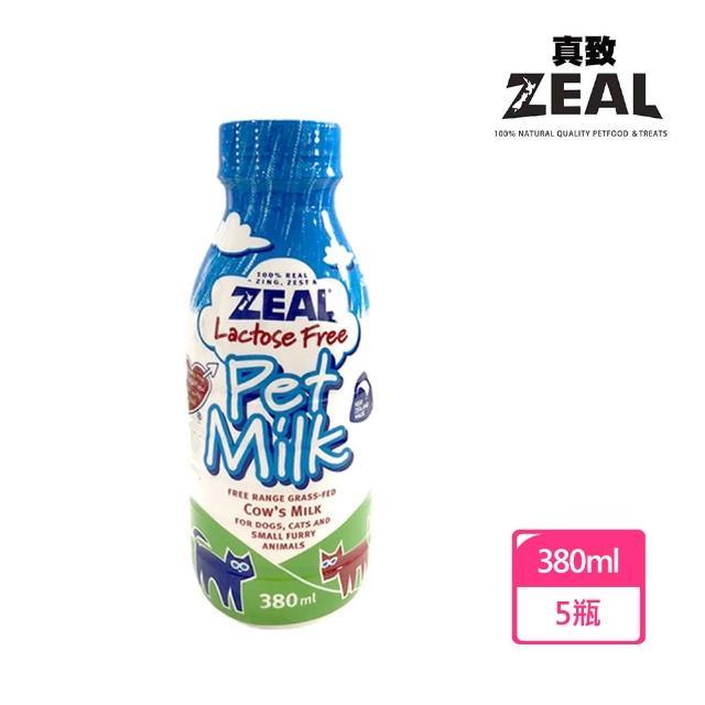 【ZEAL】犬貓專用鮮乳(380mlX5罐)
