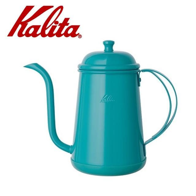 【Kalita】不銹鋼烤漆藍綠色手沖壺/細口壺 700ml(#52196)