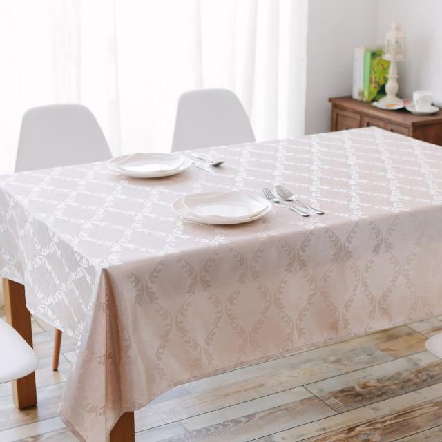 【伊美居】桂冠防潑水桌巾(120x120cm)