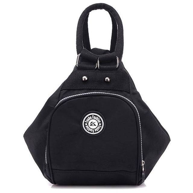 【Acorn*橡果】韓風輕量防水多功能後背包5366(黑色)