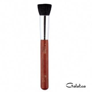 【Galatea葛拉蒂】紅木系列R11FSS 尖鋒羊毛平口腮紅修容兩用刷