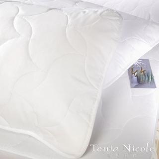 【Tonia Nicole東妮寢飾】竹纖平單式枕頭保潔墊(2入)