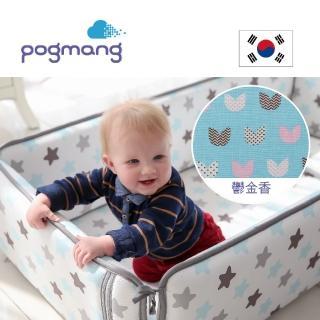 【pogmang】韓國3D床圍透氣墊(鬱金香)