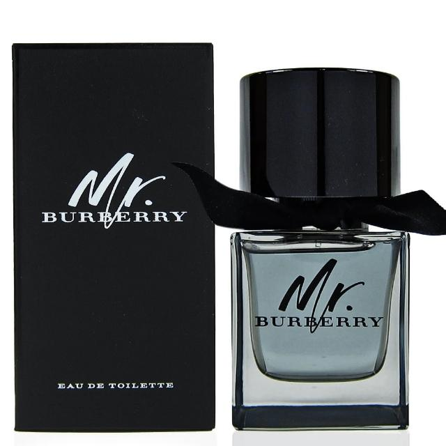 BURBERRY Mr.BURBERRY男性淡香水50ml熱銷明星品
