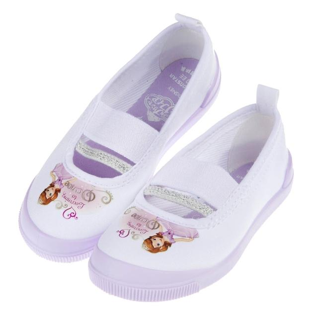 【布布童鞋】Moonstar日本製Disney蘇菲亞小公主紫色兒童室內鞋(I7F019F)