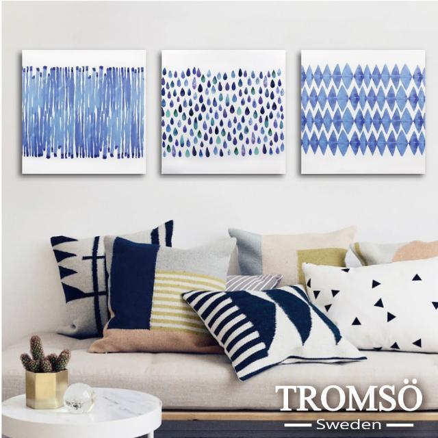 【TROMSO】時尚無框畫/簡單水生活(三幅一組無框畫40X40CM)