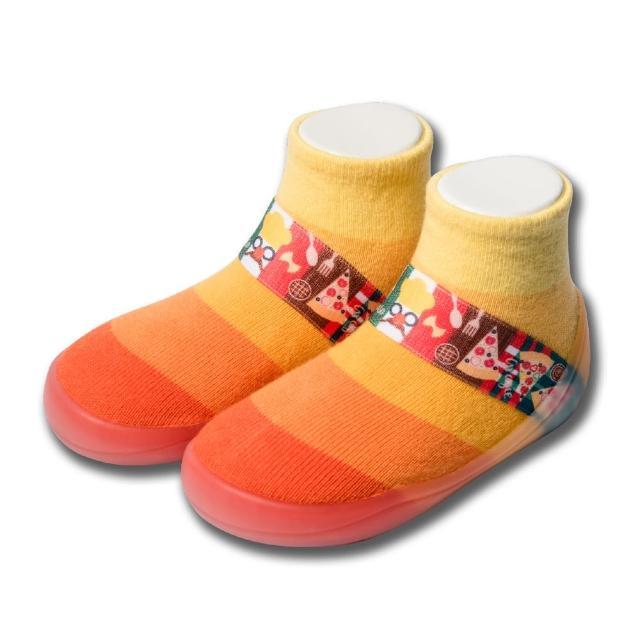 【feebees】糖果系列-橘子糖(襪鞋.童鞋.學步鞋.台灣製造)