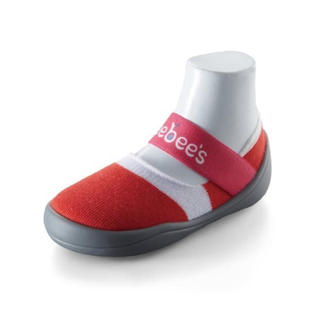 【feebees】酷涼款系列-火焰紅(襪鞋.童鞋.學步鞋.台灣製造)