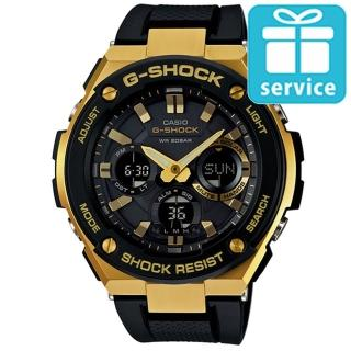 【CASIO】G-SHOCK 絕對強悍防震分層防護構造雙顯錶(GST-S100G-1A)