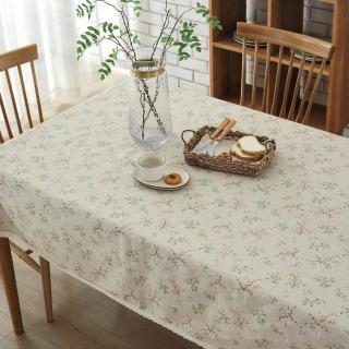 【巴芙洛】田園青草桌巾-120X170cm(桌巾/餐桌巾/桌布/桌墊)