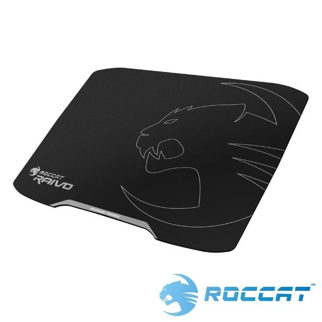 【ROCCAT】Raivo 塑膠鼠墊-午夜黑