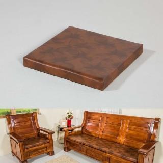 【CLEO】8公分厚四方墊/乳膠皮/沙發坐墊(6  入)