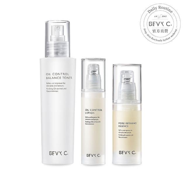 【BEVY C.】油脂平衡調理系列3件組(毛孔終結)