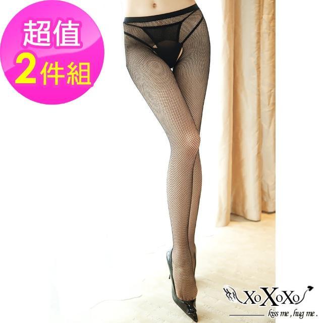 【XOXOXO】網織愛戀網格鏤空褲襪(挑逗黑)