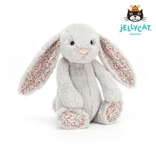 【英國 JELLYCAT】經典31公分碎花兔子(碎花Silver)