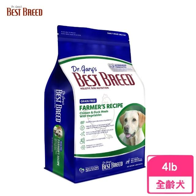 【BEST BREED貝斯比】《全齡犬無榖雞肉+蔬果配方-BBF1201GF》1.8kg