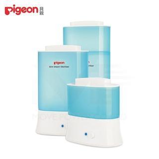 【日本《Pigeon 貝親》】輕巧型蒸氣消毒鍋-2隻入(貝親娃娃城消毒鍋蒸氣小型奶瓶消毒器)