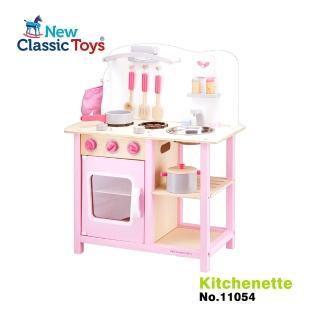 【荷蘭New Classic Toys】小主廚木製廚房玩具(兩色可選)