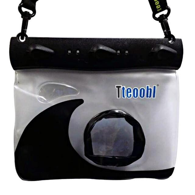 【Tteoobl】T-508M 耐壓20米 類單眼相機通用防水袋(黑)