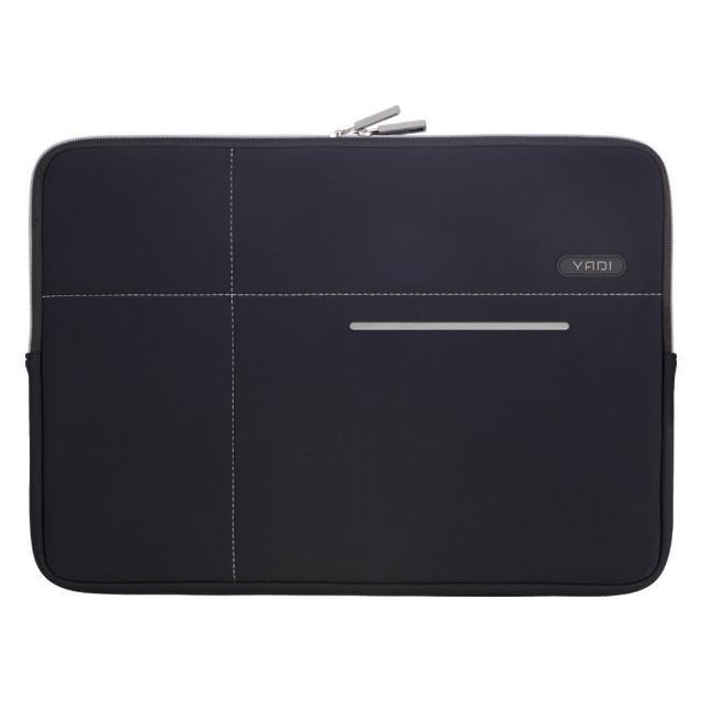 【YADI】抗冲击防震机能内袋-MacBook Pro 13吋专用(星夜黑 / 粉蝶红)