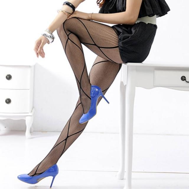 【Lady c.c.】超大格網野性風造型褲襪